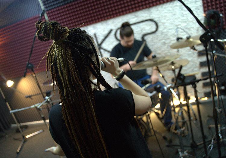 live запись на студии звукозаписи KSP Москва